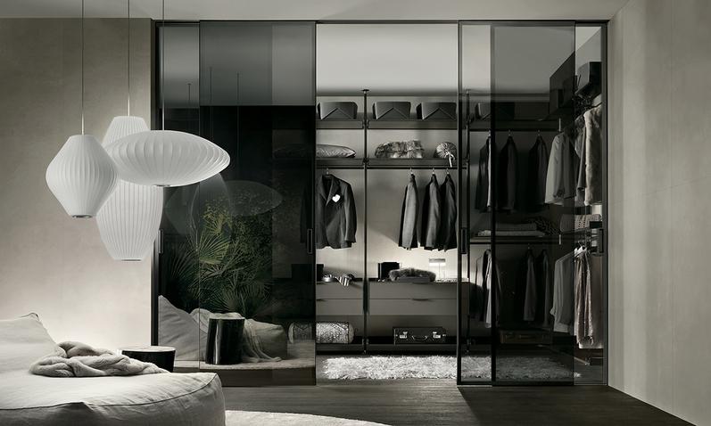 cabina armadio zona notte - Habitat Casa