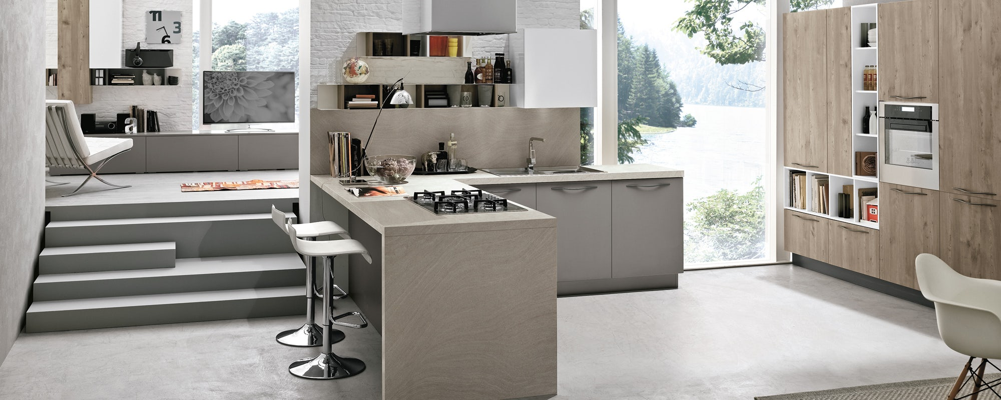 Espace cuisines Stosa Cucine - Habitat Casa