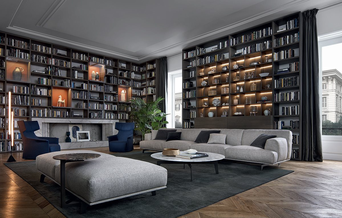 poliform lissone soggiorno - Habitat Casa