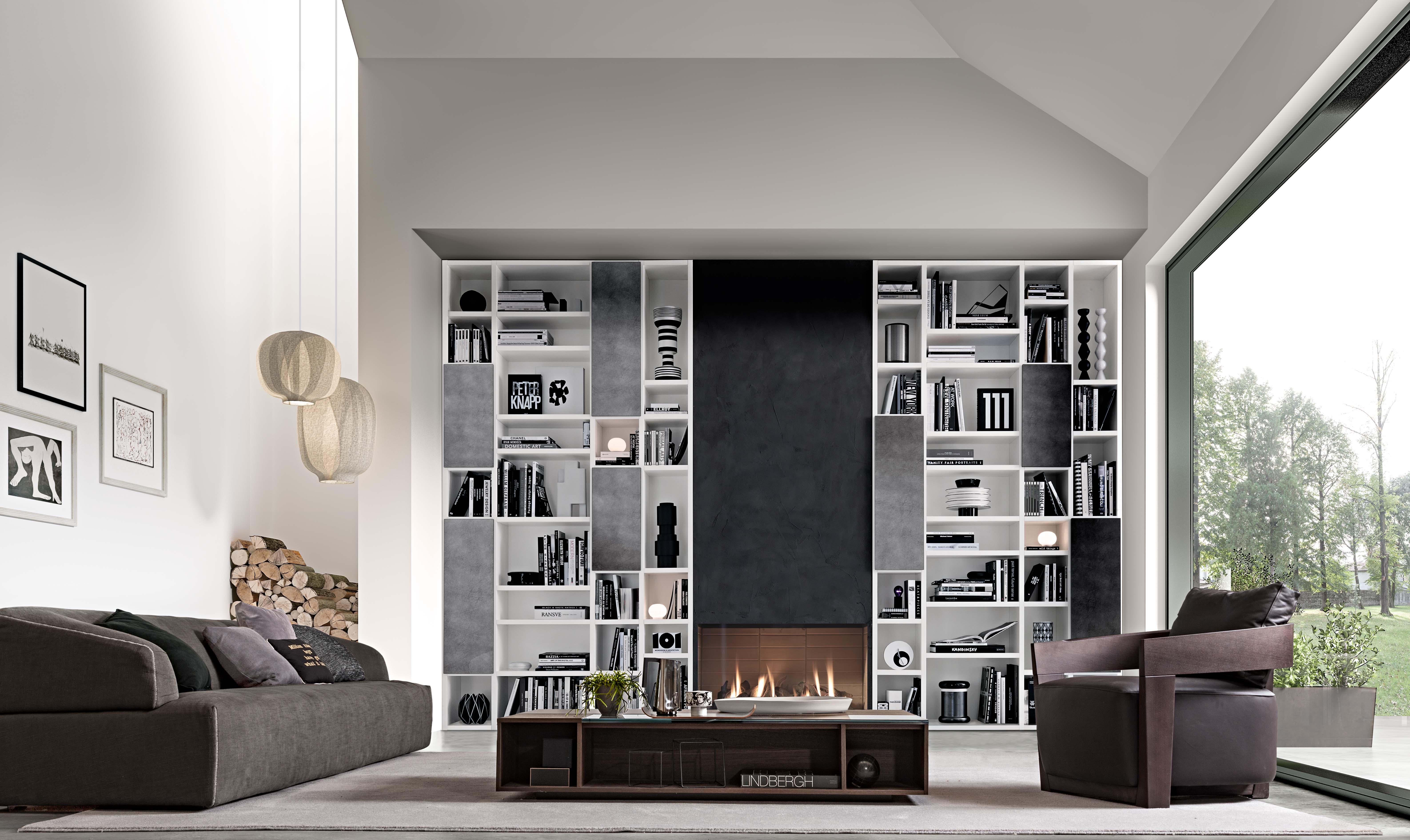 Soggiorni jesse lissone habitat casa mobili e for Soggiorni moderni lissone