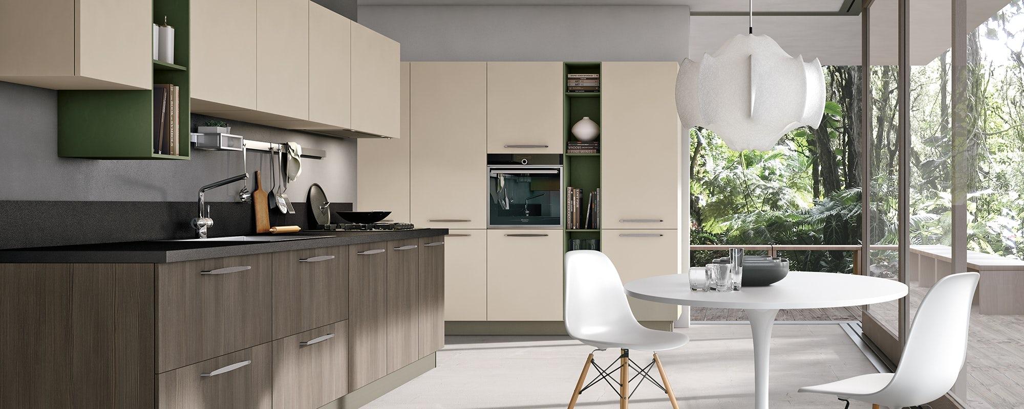 Zona cucine stosa habitat casa for Catalogo cucine componibili