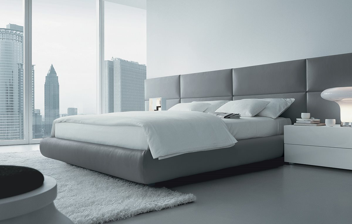 Camera da letto poliform arredamento zona notte habitat casa - Letto poliform jacqueline ...