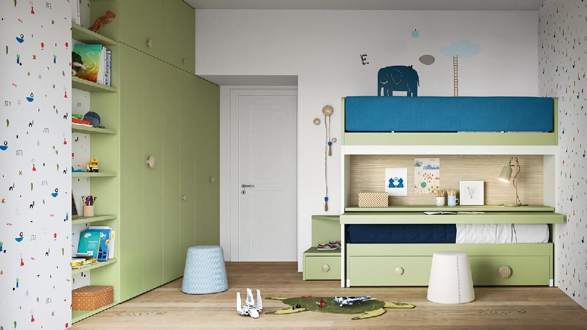 Camerette nidi lissone habitat casa aredamento e mobili for Casa della cameretta lissone