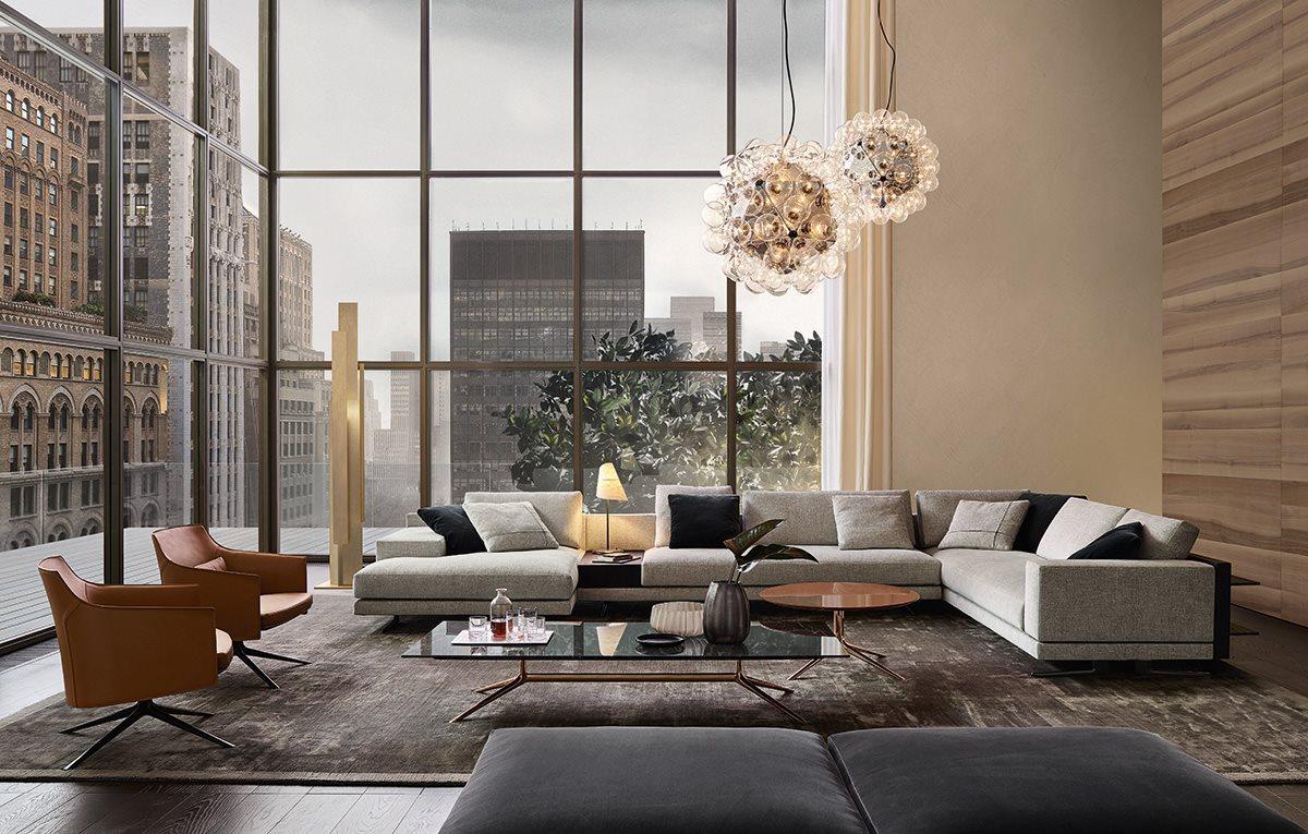 divano per soggiorno - Habitat Casa