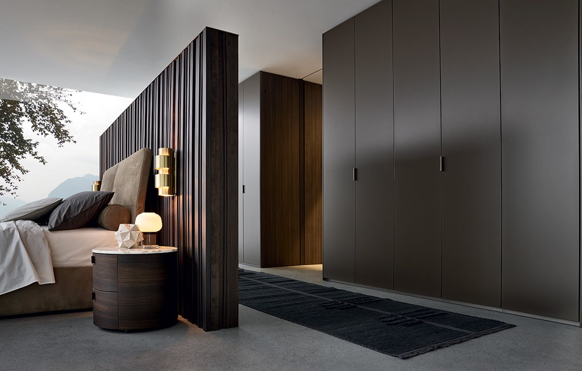 Cabine Armadio Poliform : Camera da letto poliform arredamento zona notte habitat casa