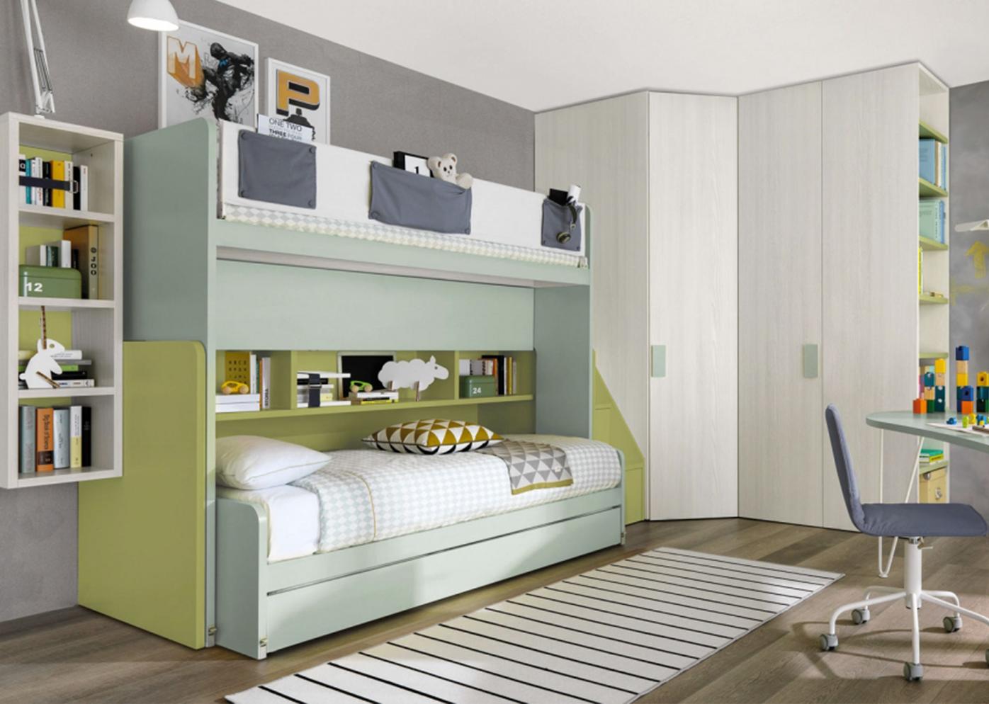 Stanze Da Letto Per Ragazzi : Camera da letto per ragazzi habitat casa