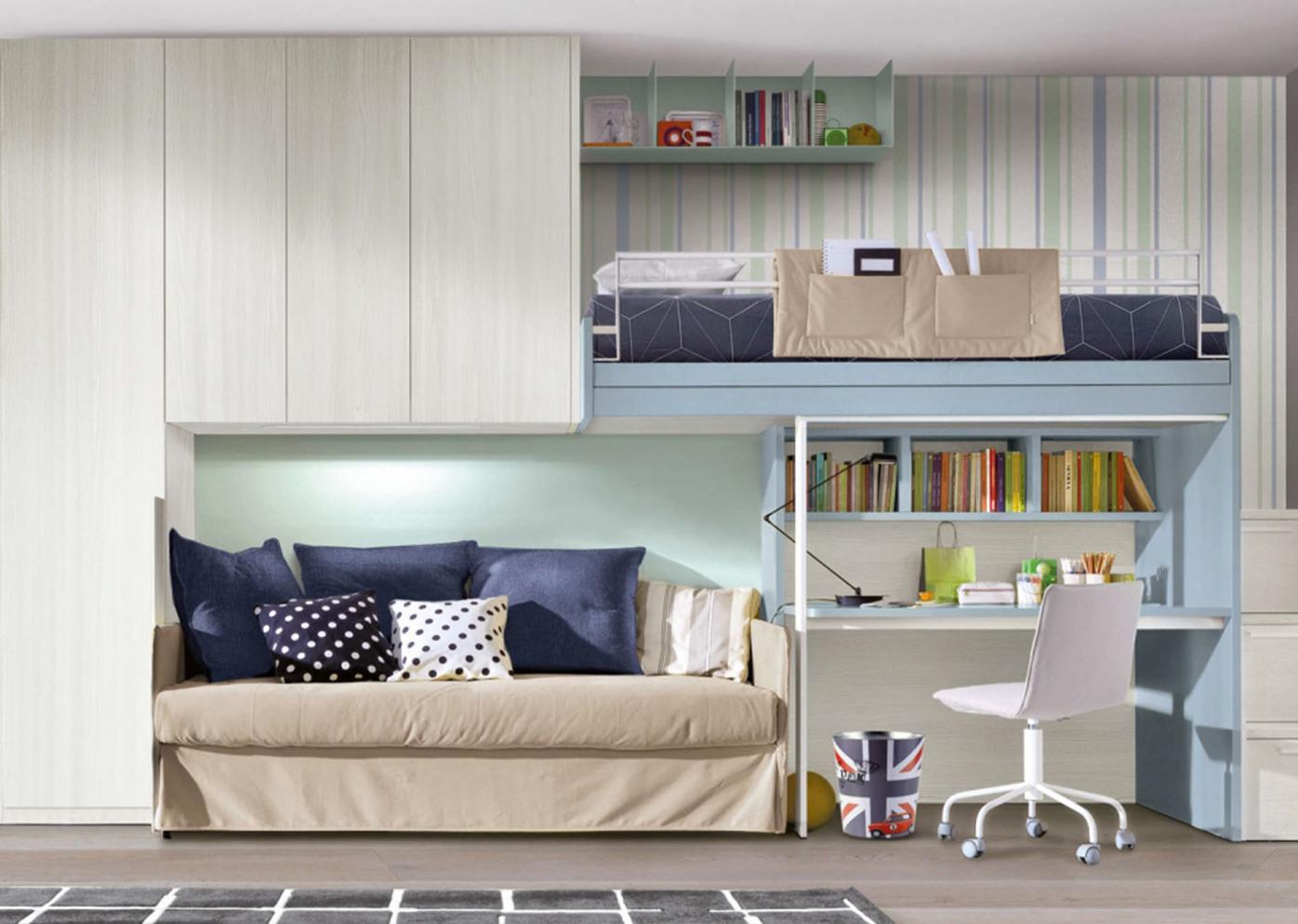 Camerette zalf lissone habitat casa arredamento e mobili for Casa della cameretta lissone