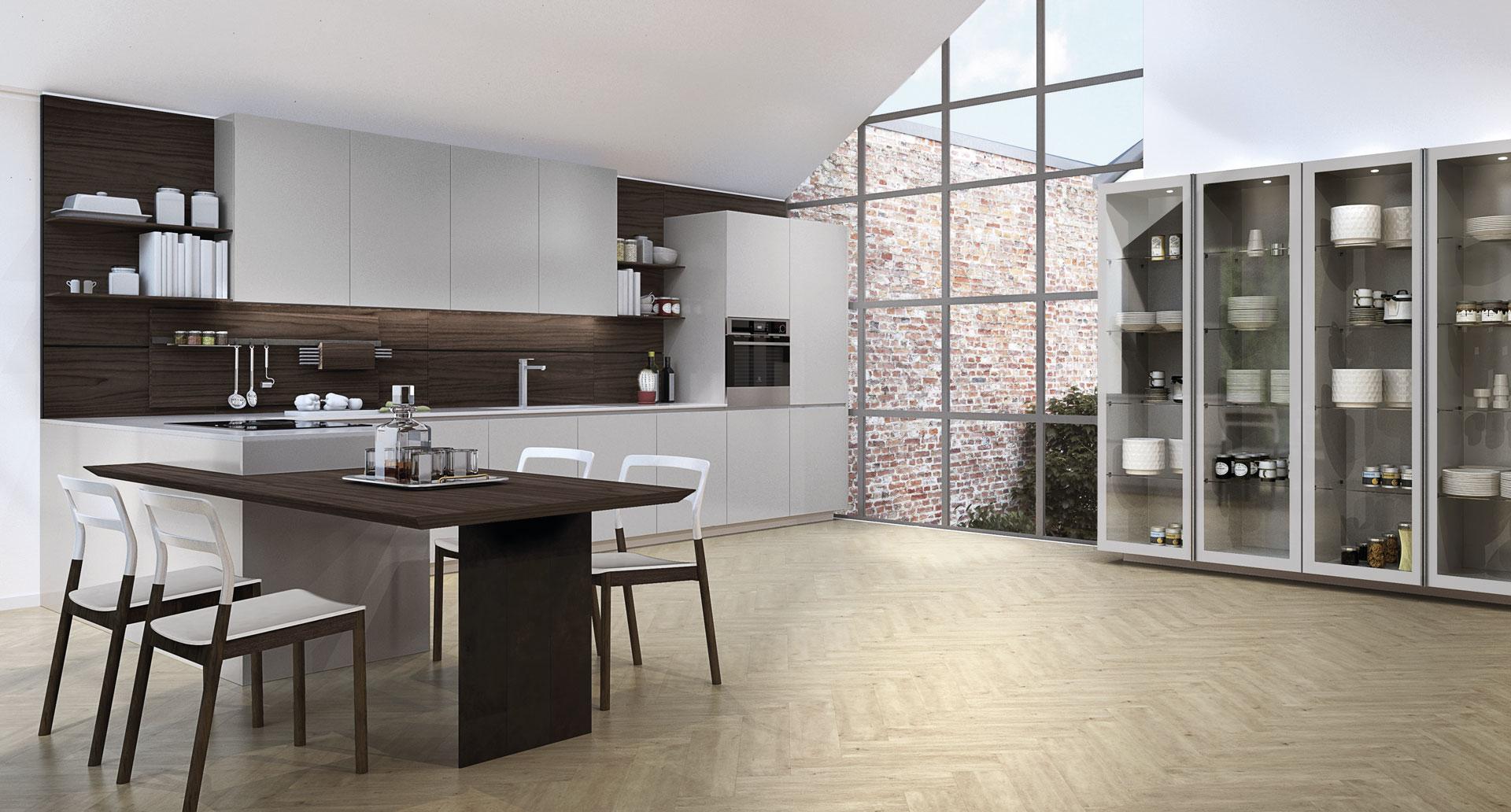 Cucine poliform lissone habitat casa rivenditore poliform - La casa della cameretta lissone ...